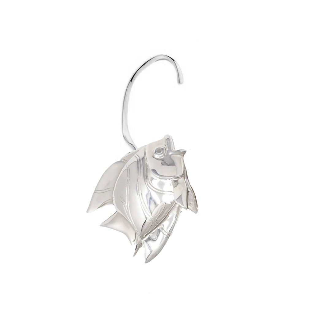 Earring Fish Love Silver SCH 467-1-right