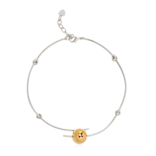 Necklace Tapeo Gold and Silver SCH 375-2