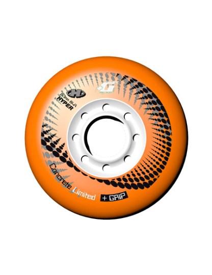 RUEDAS CONCRETE +G 80MM 84A (4 UNID) - Naranja