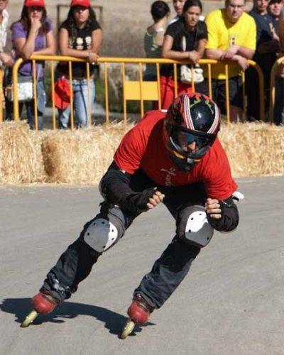 monitor de patinaje y descenso Edu