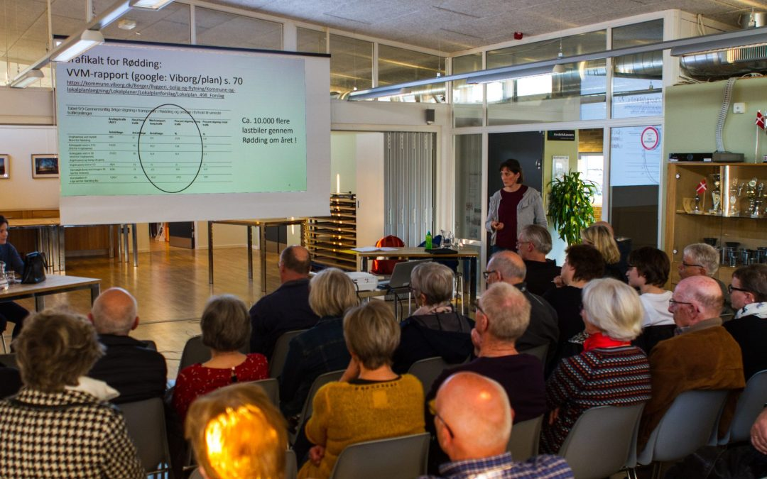 Om Rødding og biogas – fra borgermødet