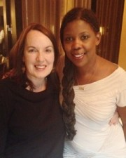 Sherri with our dear friend Star Parker, who just does a fantastic job in Dinesh D'Souza's America.