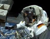 German Astronaut in Space