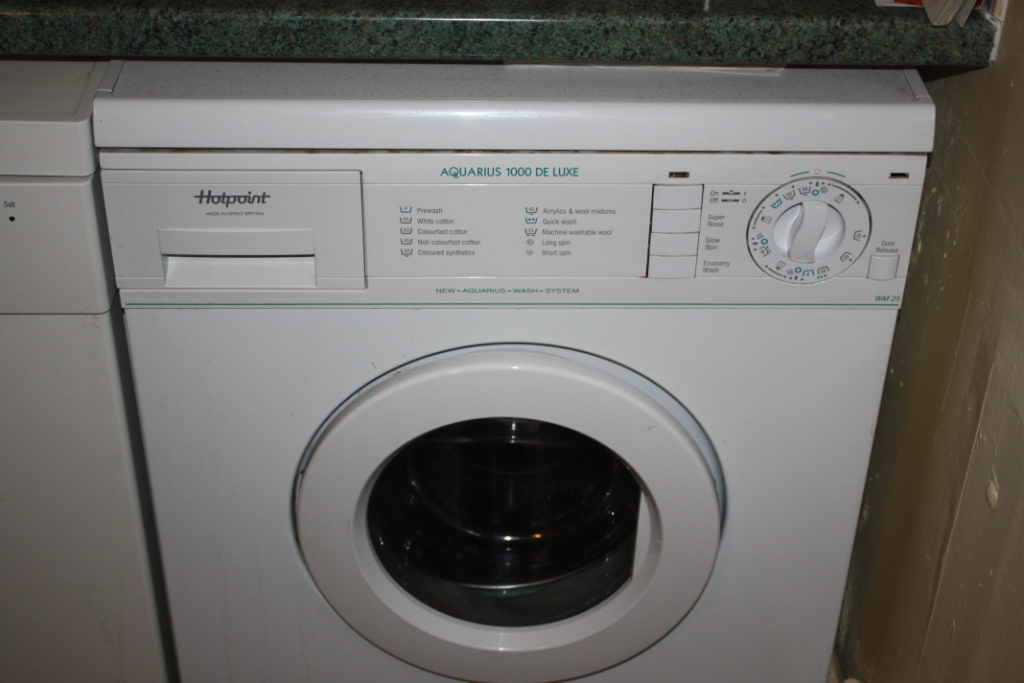 Currys, TechGuys and Hotpoint could do better | Roddy ... on Washing Machine  id=96073