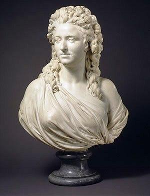 Augustin Pajou - Madame de Wailly - 1789