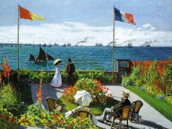 Claude Monet - Tuin in Sainte-Adresse