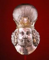 Hoofd van een koning - Iran - 320 n.C.