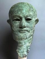 Hoofd van een koning - Mesopotamië - 2200 v.C.