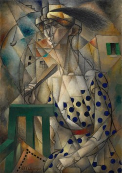 Jean Metzinger - Femme à l'Eventail - 1912