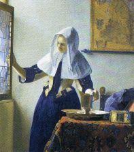Johannes Vermeer - Meisje met waterkan - 1662