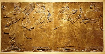 Muurversieringen - Mesopotamië - 880 v.C.