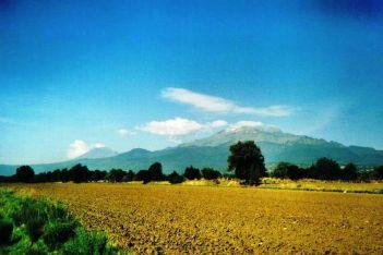 Popocatépetl-vulkaan 01