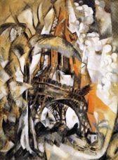 Robert Delauney - Eiffeltoren met bomen - 1910