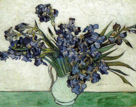 Vincent Van Gogh - Irissen - 1890