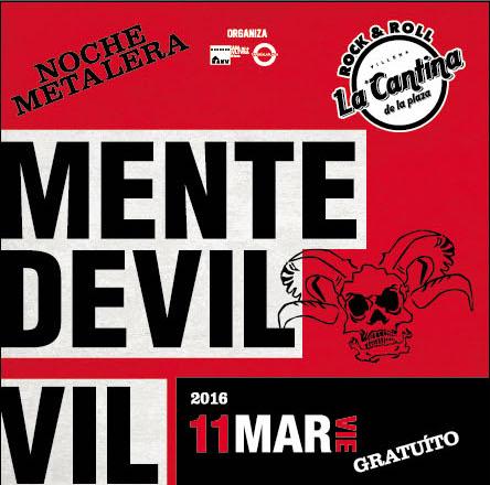 Mente_Devil+Vil - La Cantina de la PlazaMente_Devil+Vil - La Cantina de la Plaza