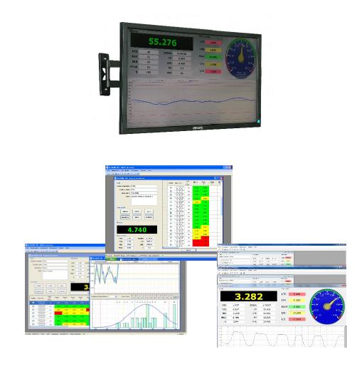 integrazione dei distanziometri laser su sistemi informatici per industria 4.0 e per l'acquisizione a distanza di profili e lunghezze