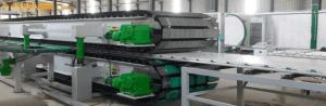 Misure di spessore senza contatto in linea di produzione con spessimetri LASER