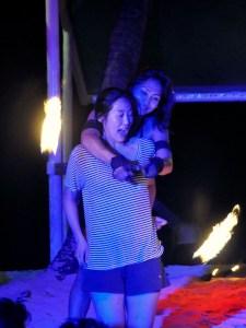 firedancer and girl