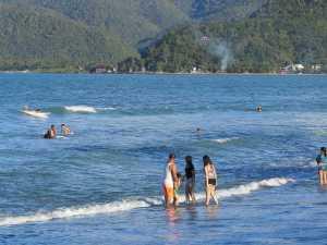 sabaing beach Baler