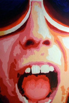Big Mouth by Rodger Bliss Acrylic on Canvas