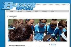Belvidere Blasters Softball