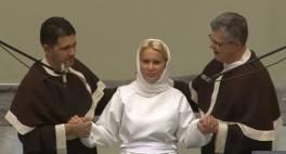 prima din familie sa se boteze