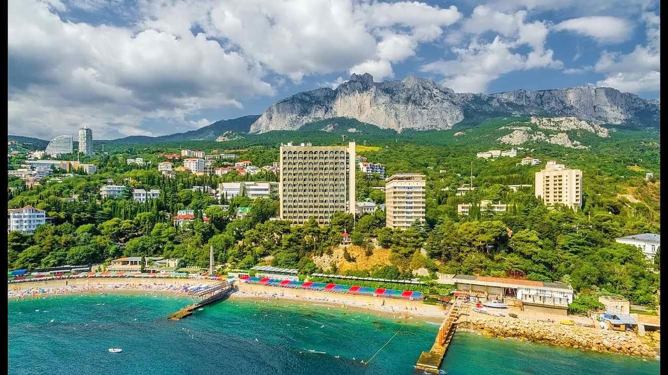 Пляж санатория Ай-Тодор Кореиз