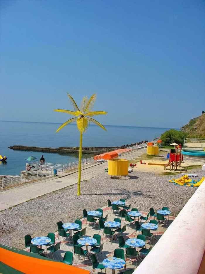 Фото пляжа санатория Понизовка