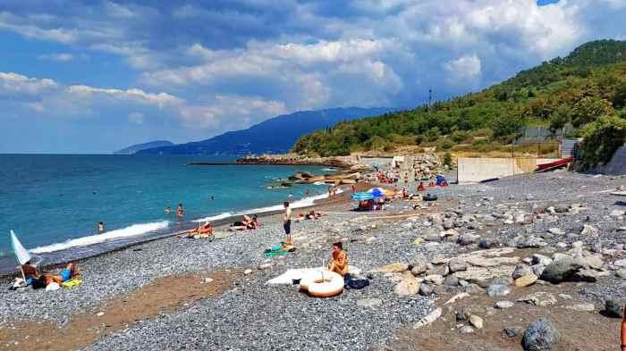 Фото золотого Пляж Курпаты
