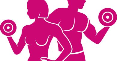 Gym Logo Fitness Exercise  - Radoan_tanvir / Pixabay