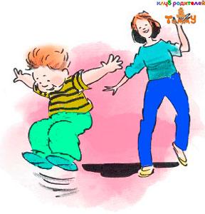 Развитие ребенка 3 года: прыг-скок