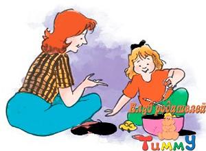 Развитие ребенка 5 лет: собери предметы