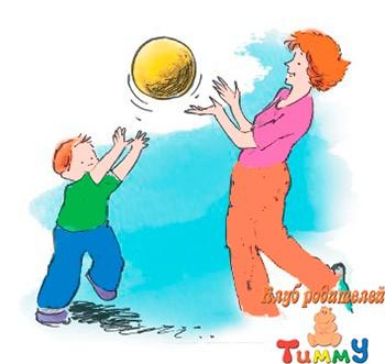 Развитие ребенка 5-6 лет: надувной волейбол