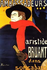 Aristide Bruant - Toulouse Lautrec