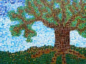 "The Tree - Acrylic on Canvas- 36"" x 48"" - Rod Jones Artist"