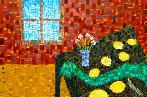 "Lemons- oil on canvas- 24""x36""- Rod Jones Artist"