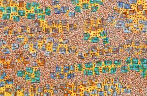 "Under the Canopy - Rod Jones Artist- Oil on Canvas -36"" w x 24"" h"
