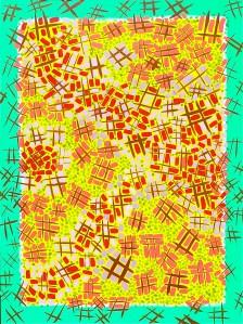 "DECISIONS 60"" h x 48"" w - oil on canvas - Rod Jones Artist"