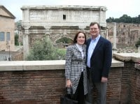Rod & Sherri at the Roman Forum
