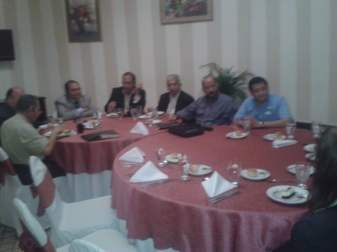 Lunch with Central American Pastors