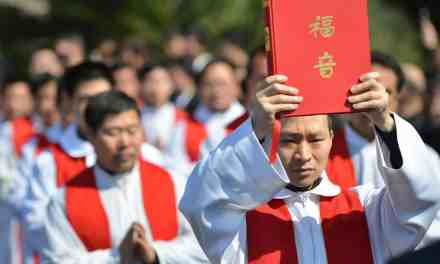 """China Close to Becoming World's """"Most Christian Country"""""""