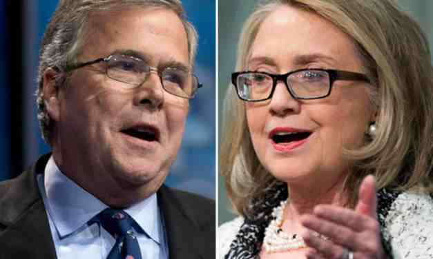 """Jeb and Hillary: The Two-Edged Sword of """"Inevitability"""""""