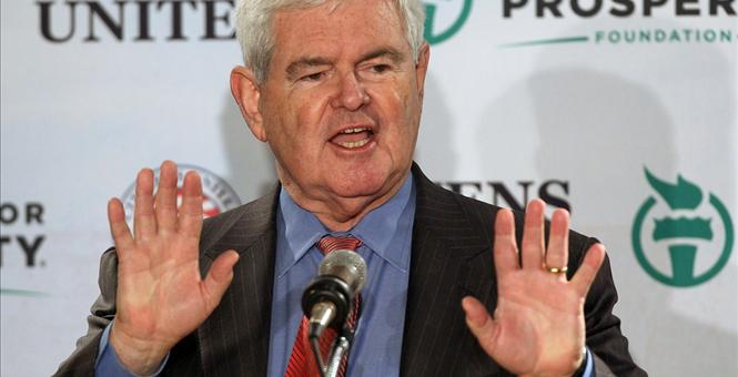 My Candidate for the Next Speaker of the House: Newt Gingrich