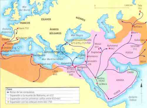Islamic Conquests, 632-750