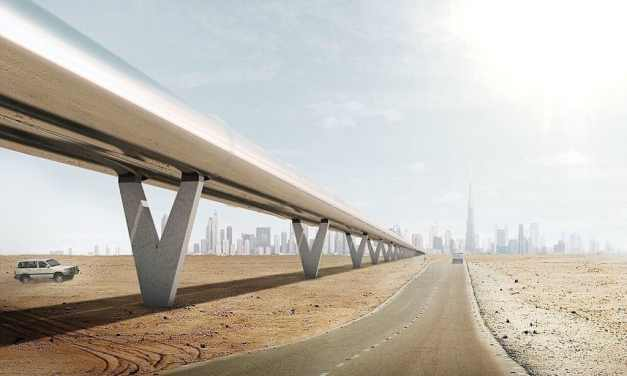 The Hyperloop Looks Different From Dubai
