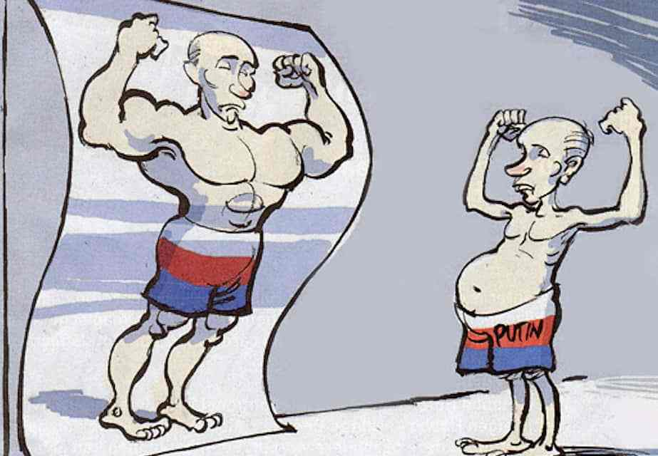 Putin is Left Out in the Cold