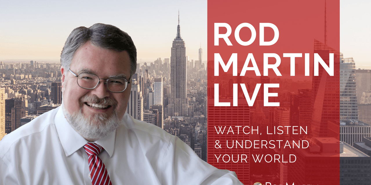 Rod Martin LIVE – August 2, 2017