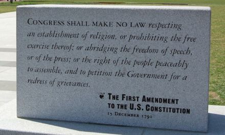 The First Amendment Is In Far Greater Danger Than The Second