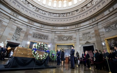 Thousands Pay Respect To Billy Graham In U.S. Capitol