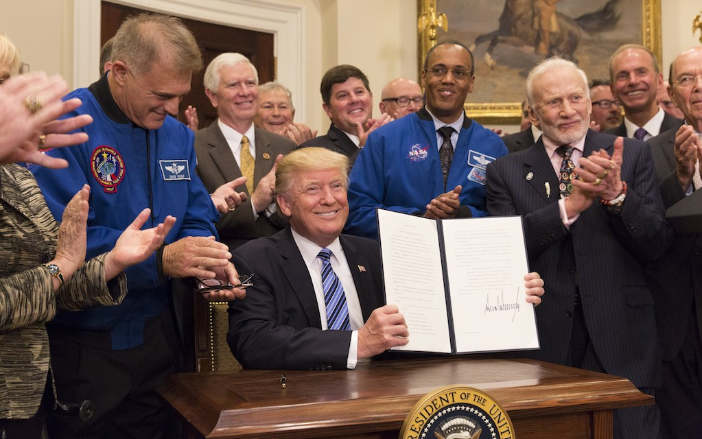 Real Leadership in Space
